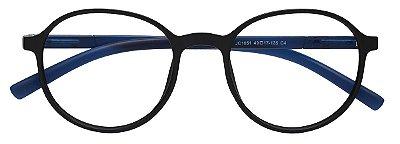 Armação Óculos Receituário AT 1051 Preto/Azul