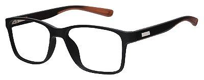 Armação Óculos Receituário AT 1029 Preto/Marrom