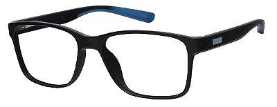 Armação Óculos Receituário AT 1029 Preto/Azul