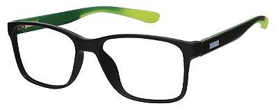 Armação Óculos Receituário AT 1029 Preto/Verde