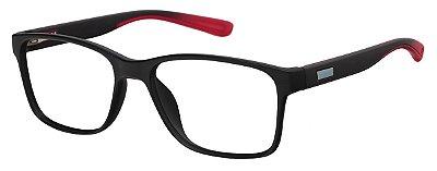 Armação Óculos Receituário AT 1029 Preto/Vermelho