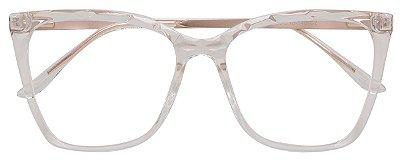 Armação Óculos Receituário AT 2114 Mosaico Transparente
