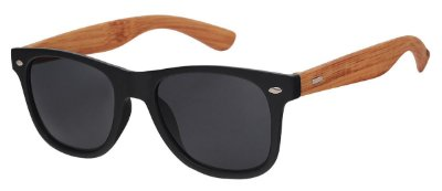 Óculos de Sol Unissex AT 56038 Preto/Bambu
