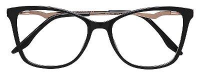 Armação Óculos Receituário AT 2099 Preto