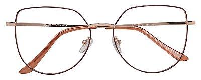 Armação Óculos Receituário AT 5023 Marrom