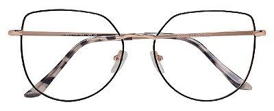 Armação Óculos Receituário AT 5023 Preto