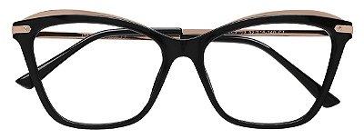Armação Óculos Receituário AT 2103 Preto