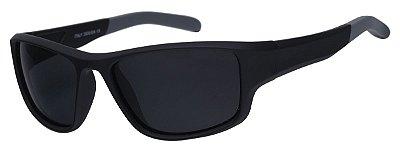 Óculos De Sol Infantil AT 99071 Preto/Cinza (04 a 12 anos)
