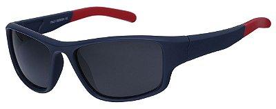 Óculos De Sol Infantil AT 99071 Azul/Vermelho (04 a 12 anos)