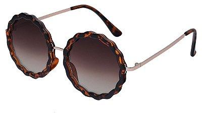 Óculos de Sol Feminino AT 72163 Tartaruga