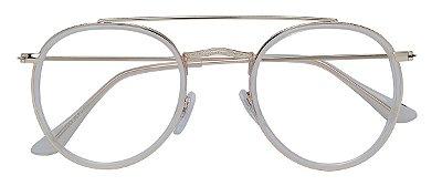 Armação Óculos Receituário AT 3002 Branco