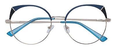 Armação Óculos Receituário AT 8053 Azul