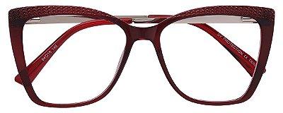 Armação Óculos Receituário AT 6040 Vermelho