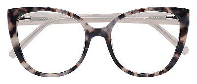 Armação Óculos Receituário AT 9178 Animal Print