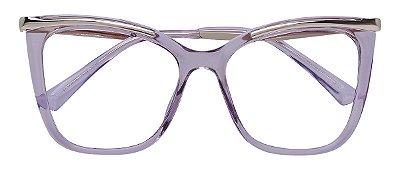 Armação Óculos Receituário AT 6015 Lilás