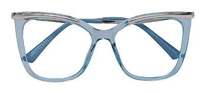 Armação Óculos Receituário AT 6015 Azul
