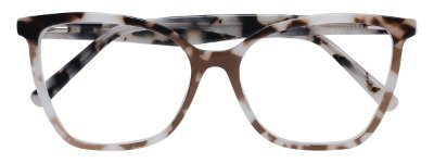 Armação Óculos Receituário AT 2180 Branco Animal Print