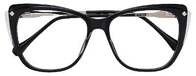Armação Óculos Receituário AT 7004 Preto