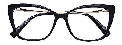 Armação Óculos Receituário AT 206043 Preto