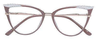 Armação Óculos Receituário AT 5255 Nude/Transparente