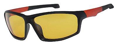 Óculos de Sol Masculino AT 20527 Preto/Vermelho