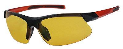 Óculos de Sol Masculino AT 20529 Preto/Vermelho