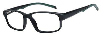Armação Óculos Receituário AT 1088 Preto/Verde