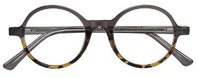Armação Óculos Receituário AT 22018 Cinza/Tartaruga