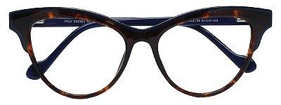 Armação Óculos Receituário AT 1014 Tartaruga