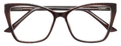 Armação Óculos Receituário AT 2155 Marrom