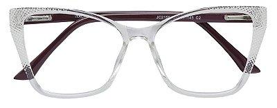 Armação Óculos Receituário AT 2155 Transparente