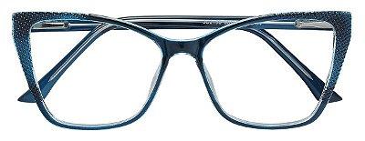 Armação Óculos Receituário AT 2155 Azul
