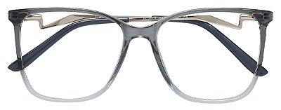 Armação Óculos Receituário AT 2101 Cinza Degrade