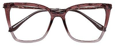 Armação Óculos Receituário AT 5670 Vinho Degrade