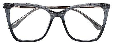 Armação Óculos Receituário AT 5670 Cinza