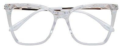 Armação Óculos Receituário AT 5670 Transparente