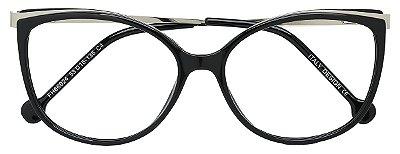 Armação Óculos Receituário AT 66024 Preto