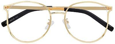 Armação Óculos Receituário AT 1787 Dourado