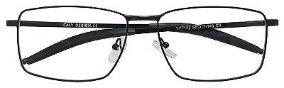 Armação Óculos Receituário AT 7103 Preto