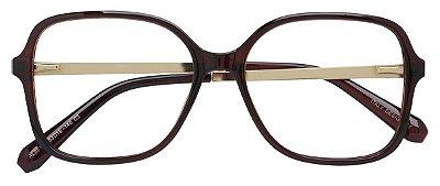 Armação Óculos Receituário AT 98124 Marrom