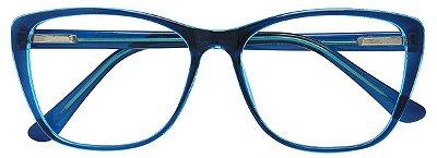 Armação Óculos Receituário AT 3335 Azul