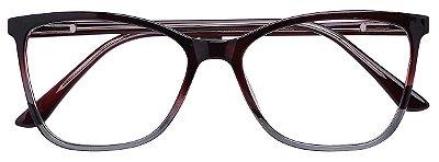 Armação Óculos Receituário AT 3341 Marrom Degrade