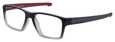Armação Óculos Receituário AT 4196 Cinza Degradê