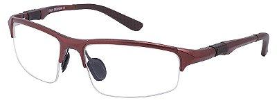 Armação Óculos Receituário AT 3001 Marrom
