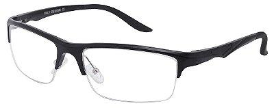 Armação Óculos Receituário AT 3006 Preto
