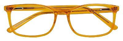 Armação Infantil Óculos Receituário AT 972 Laranja (05 A 12 Anos)
