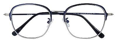 Armação Óculos Receituário AT 9134 Prata/Azul