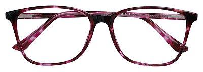 Armação Óculos Receituário AT 3107 Roxo Mesclado