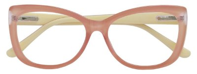 Armação Óculos Receituário AT 3342 Rosa/Branco