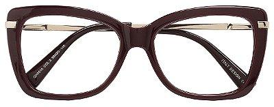 Armação Óculos Receituário AT 5510 Vinho